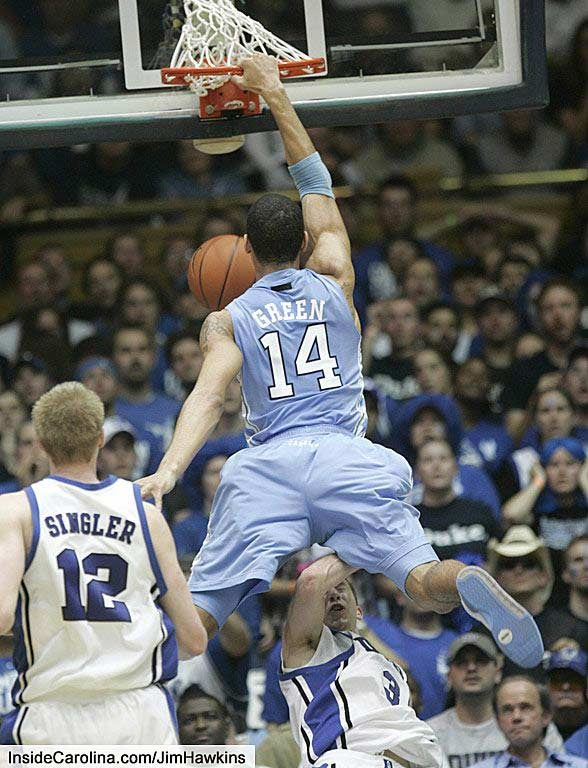Your Definitive Duke-UNC Photo