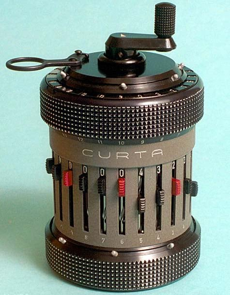 Vintage Rally Geekage: Curta Peppermill