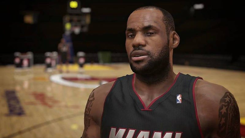 Here's the Music LeBron James Chose for NBA 2K14