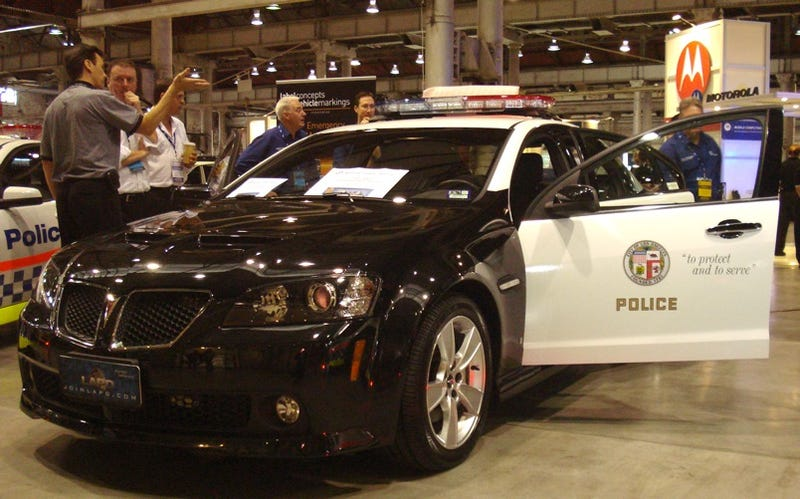 LAPD To Buy Chevy-Badged Holden Commodore Police Cars?
