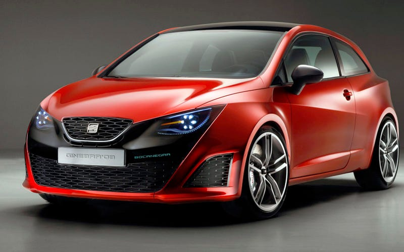 SEAT Bocanegra Concept Green-Lit As New Ibiza Variant