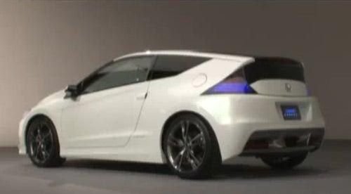 Toyota FT-86, Honda CR-Z Hybrid, Production Nissan Leaf