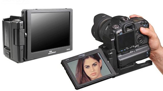 Add a Massive 5.6-Inch LCD Display To Your DSLR