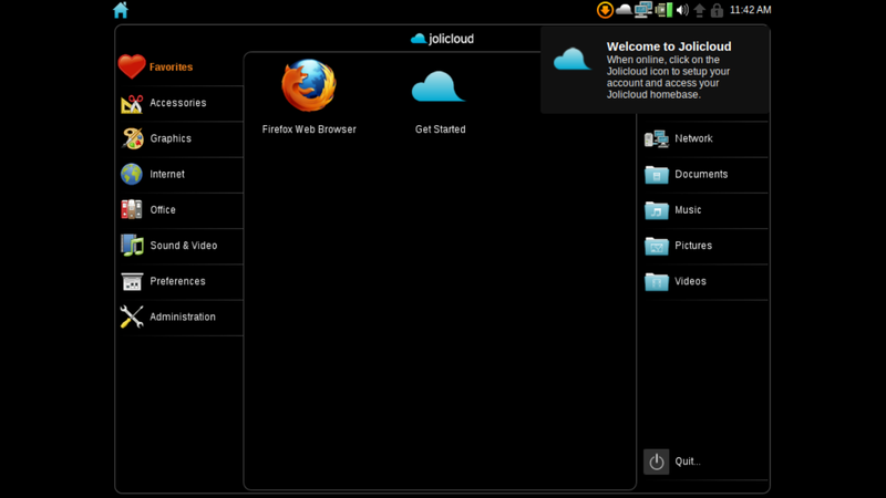 Jolicloud Netbook OS Is a Bit Like Chrome OS with Awesome Desktop Applications