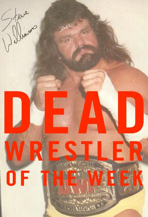 "Dead Wrestler Of The Week: ""Dr. Death"" Steve Williams"