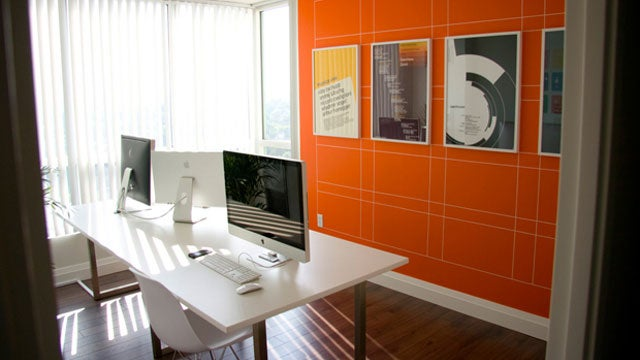 The Gridded Home Office