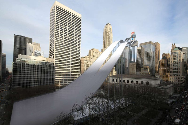 What Winter Olympics Venues Would Look Like In Manhattan