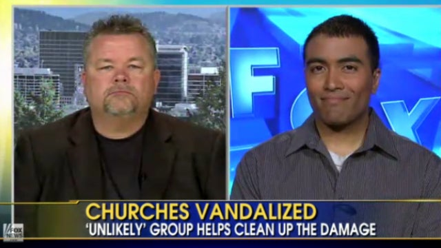 'Friendly Atheist' Helps Vandalized Churches Raise Funds