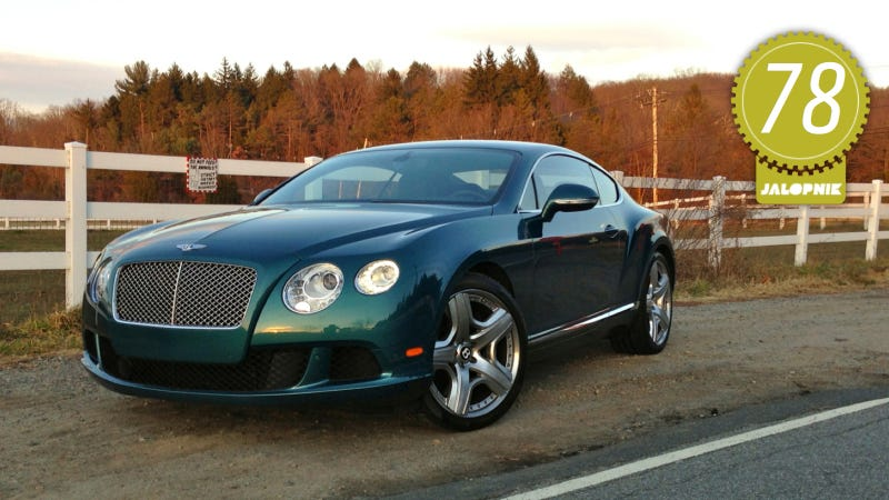 2012 Bentley Continental GT W12: The Jalopnik Review
