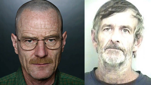 Breaking Bad IRL: real guy named Walter White wanted for cooking meth