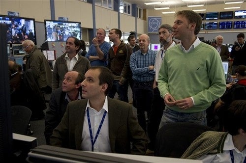 The Faces Behind the Large Hadron Collider