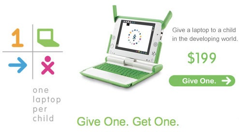 "Amazon Offering ""Give One, Get One"" XO Laptop Deal"
