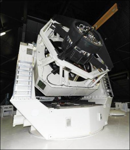 This Space Surveillance Telescope Tracks Wayward Satellites