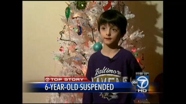 Six-Year-Old Suspended from School for Making a 'Gun Gesture' with His Finger