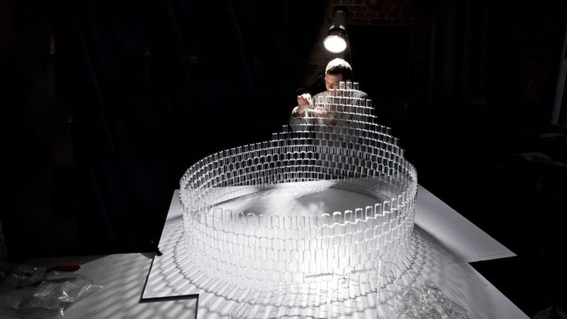 Put Your Kids To Work On A Two-Tier Lego Chandelier