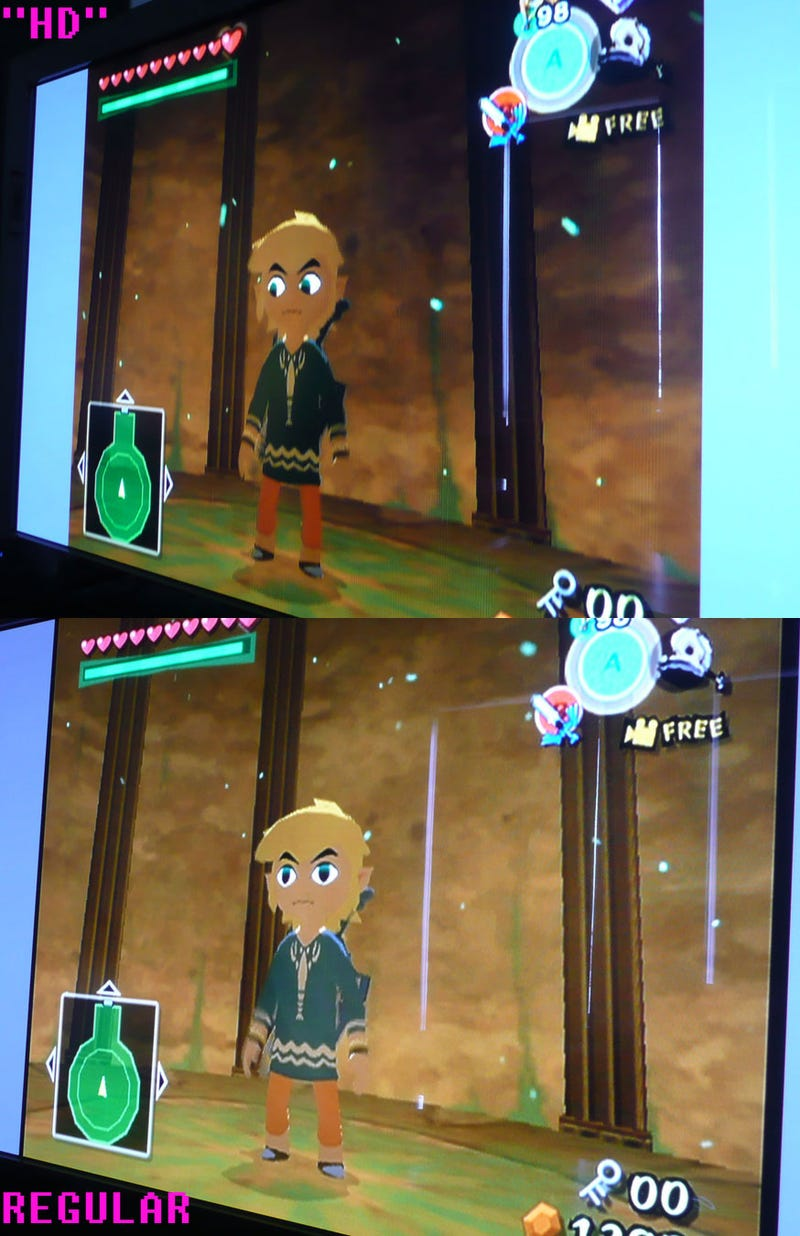 Wii HD Comparison Shots
