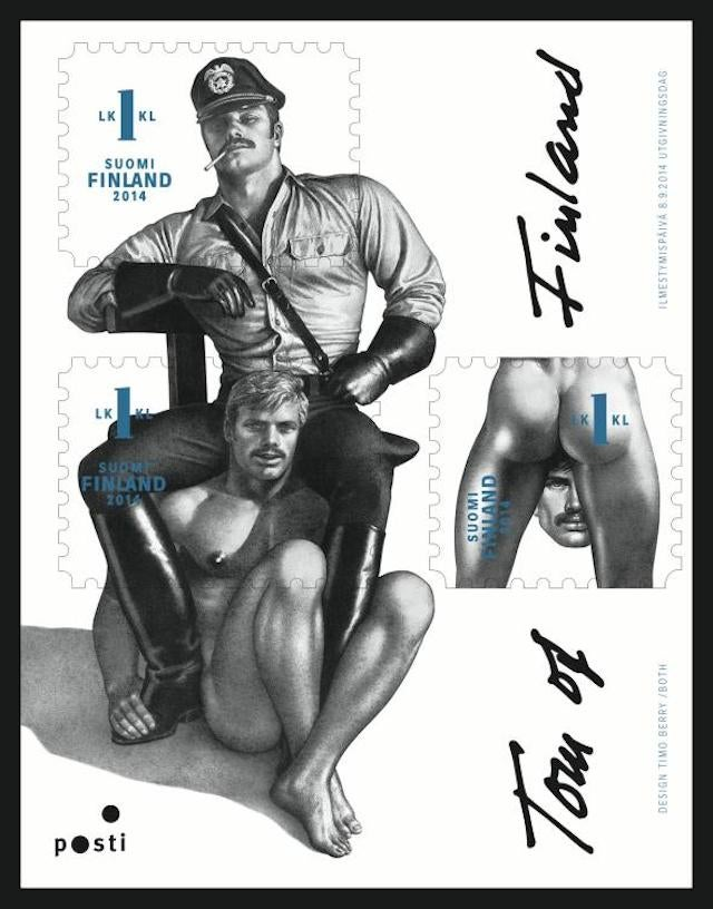Finland's New Stamps Are Really Gay