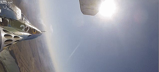 Incredible Aerial Footage From Russia's 'Aviadarts' Exercise