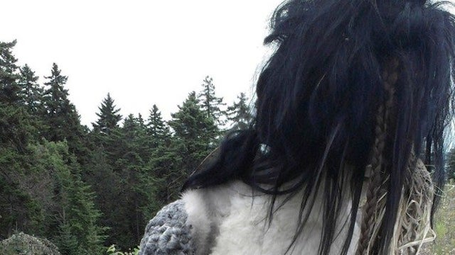 This freaky statue of a furry, hoof-handed woman will clip-clop into your nightmares
