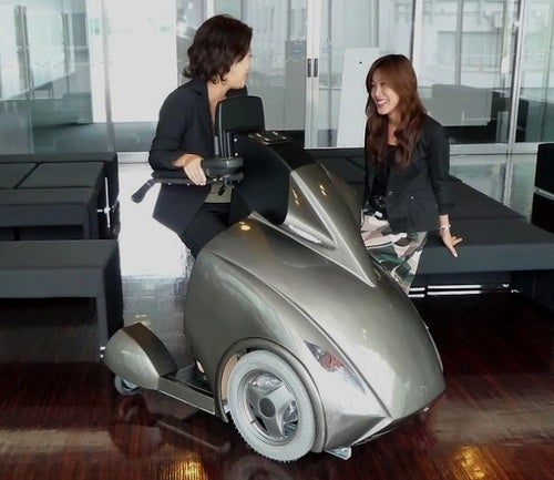 Rodem M-1: Japanese Wheelchair Of The Future