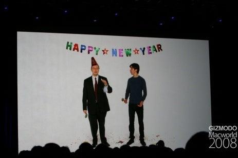 Apple Macworld 2008 Liveblog Archive