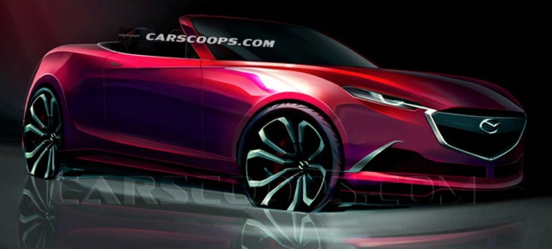 This 2015 Mazda Miata Render Has To Be An April Fools' Joke