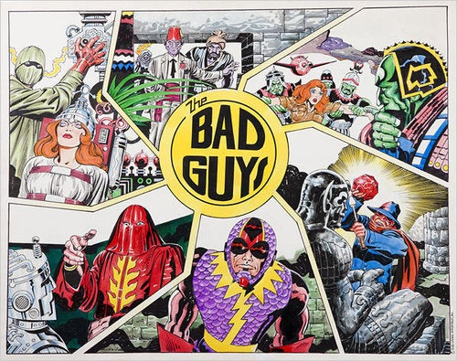H. R. Pufnstuf + Jack Kirby Superheroes = The Apex Of Human Art