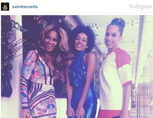 Solange Disowned Beyoncé On Instagram After Her Fight With Jay Z