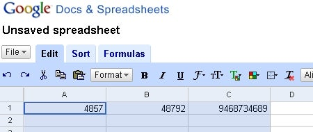 Resize Google Spreadsheet columns in a flash