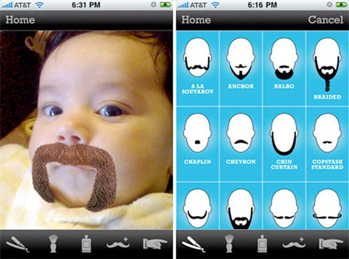 Try On Different Beards For Size With The BeardMe iPhone App