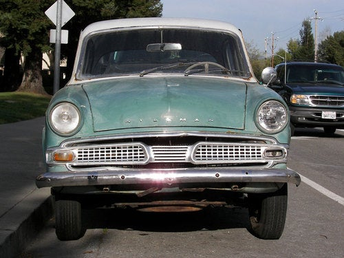 1962 Hillman Minx Down On The East Bay Street