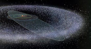 Gigantic hidden planet could be hurling comets at the rest of the solar system