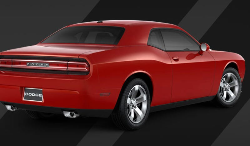 Dodge Doesn't Want You To Drive Your New V6 Challenger