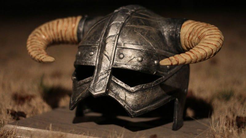 Buy Yourself a Real Dragonborn Helmet