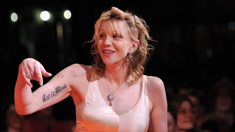 Courtney Love Wants to Kill Kurt Cobain Again After She Has Sex With Him Again