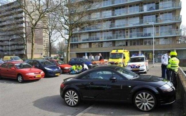 Dutch motorist run over by his own Audi TT