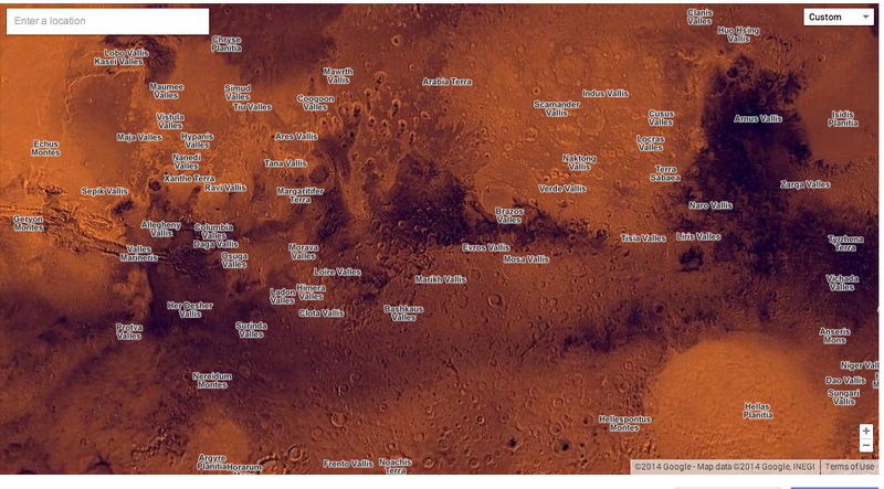 The Coolest Cartography in Google's New Maps Gallery
