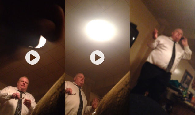 Another Rob Ford Crack Video Is For Sale. Here Are Stills.