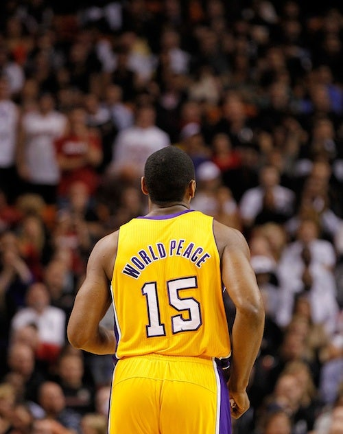 Metta World Peace Is Bored