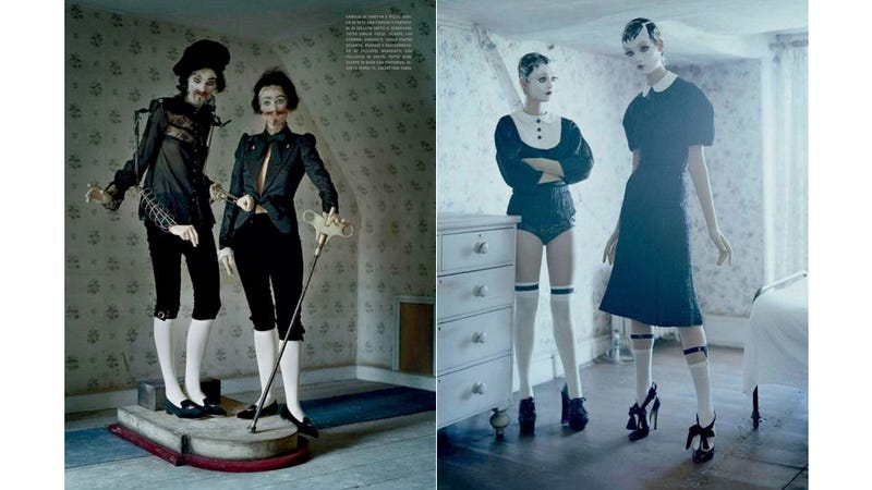 Dreamy New Vogue Italia Editorial Features Puppets