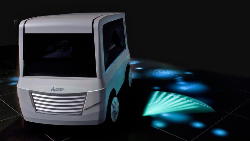Mitsubishi projector turn signal