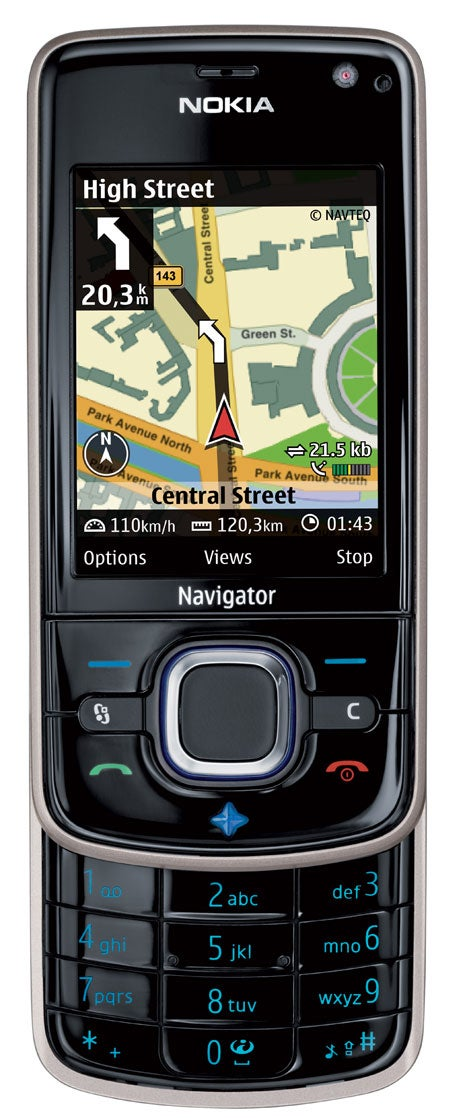 Nokia 6210 Navigator Keeps Pedestrians on Course with Compass, Accelerometers
