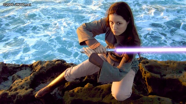 Elegant Star Wars Cosplay, For a More Civilized Age