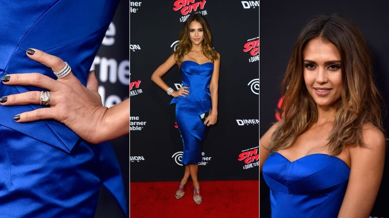 Leather, Lace and Shine for the Dames at the Sin City Premiere