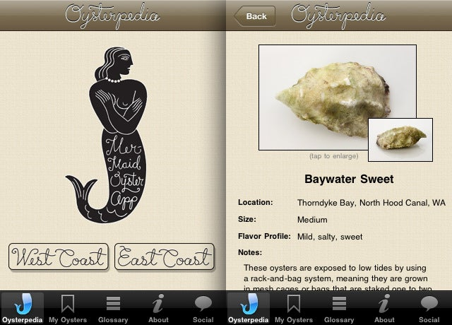 The Must Have Oyster Guide App for iPhone Users
