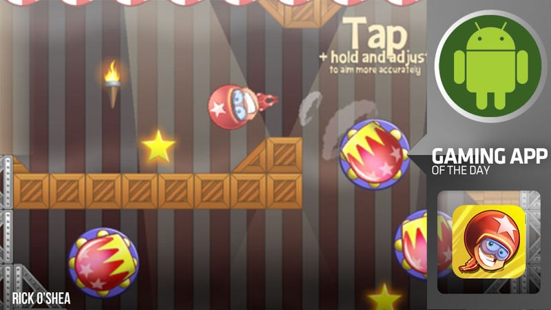 What Do You Call a Physics Puzzler Starring an Irish Human Cannonball?