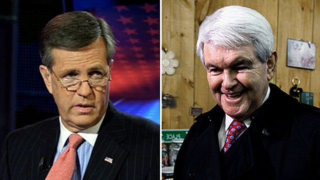Did Newt Gingrich Out Brit Hume's Dead Gay Son?