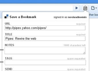 Delicious Extension Synchronizes Bookmarks with Google Chrome