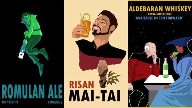 Vintage Star Trek booze ads will class up your quarters