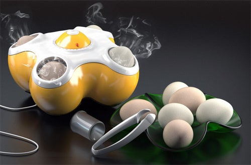 Egg Toaster Concept Kills Four Birds With One Stone
